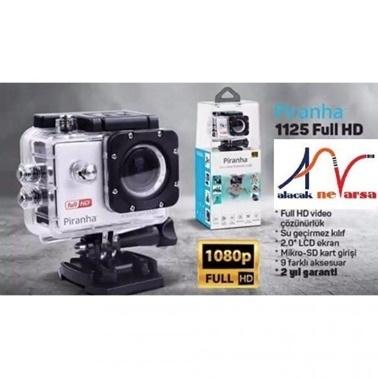 Piranha 1125 Aksiyon Kamerası Full Hd- Su Geçirmez Kasa Renkli